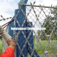 China 75X150mm/150X300mm Welded Razor Mesh Fence (BTO-22/BTO-30/CBT-65) supplier