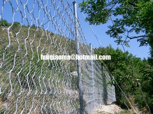 Rockfall Protection System,Slide Control Fence,Landslide,Mudslide,Slope Stabilization Net from China