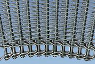 China Cooling Conveyor Belting,Wire Mesh Curve Belts, Metal Radius Belt company