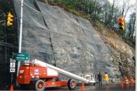 China Rock Fall Slope Drapery System,Rockfall Drapes and Netting factory