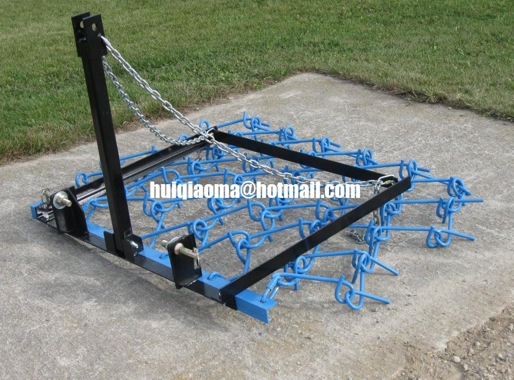 Harrow Drag Frame : Drag harrow chain atv grass