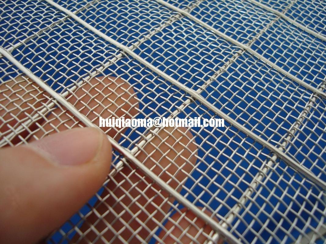 Metal Wire Mesh : Fine sandwich architectural wire cloth double layer metal