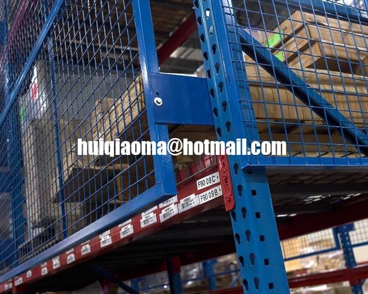 Wire Mesh Rack Guard System,Pallet Rack Safety Guards,Shelf Goods ...