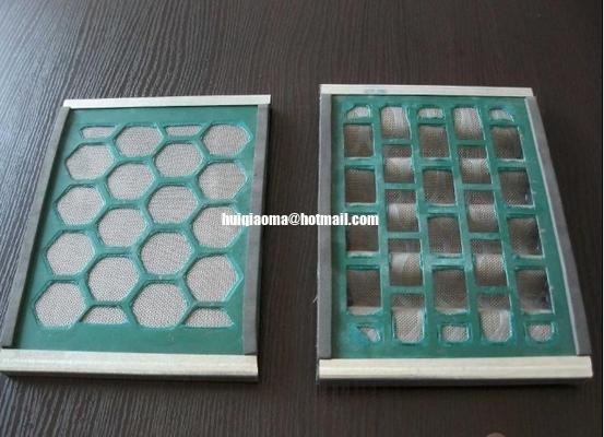 China Solids Control Shale Shaker Screens,Oilfield Shaker Screen Panel,Hook Strip Shaker Screen distributor
