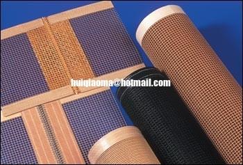 China Process Fiberglass Dryer Belt, PTFE Coated Fiberglass Mesh Belts,Print Dryers Screen distributor