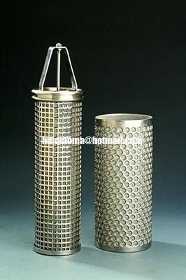 China Sintered Metal Mesh Filter Cartridges,Sintered Filter Cartridge,Multi-Layer Sintered Tubes distributor