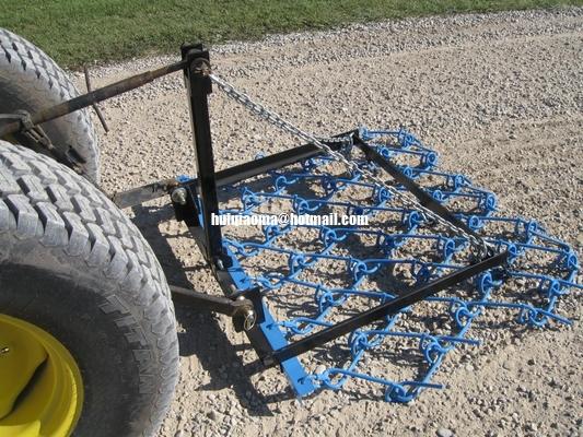 China Chain Harrow behind Estate Tractor,GHL6 6ft Wide,Farm Grass Harrow Lift Frames distributor