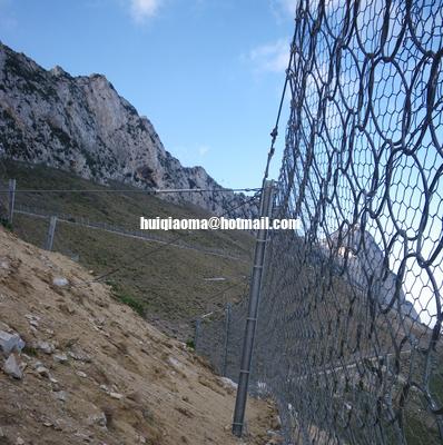 China 5000kj Rockslide Protection,7 Meters High,RXI-500 Rockfall Barrier System distributor