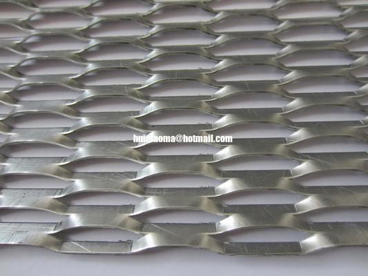 China Louver Mesh Aluminum Expanded Metal,Mesh 76mx16mm,Strand 6.3mm distributor