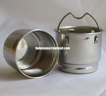 China Stainless Steel Mesh Tea Strainer Perforated|Tea Infuser Metal Cup Strainer|Loose Tea Leaf Filter Sieve distributor
